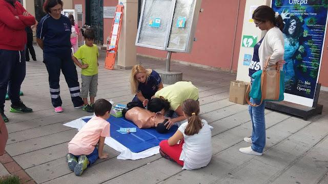 Πρέβεζα: Εκδήλωση για την «Ευρωπαϊκή Ημέρα Επανεκκίνησης Καρδιάς» πραγματοποίησε το ΕΚΑΒ στην Πρέβεζα