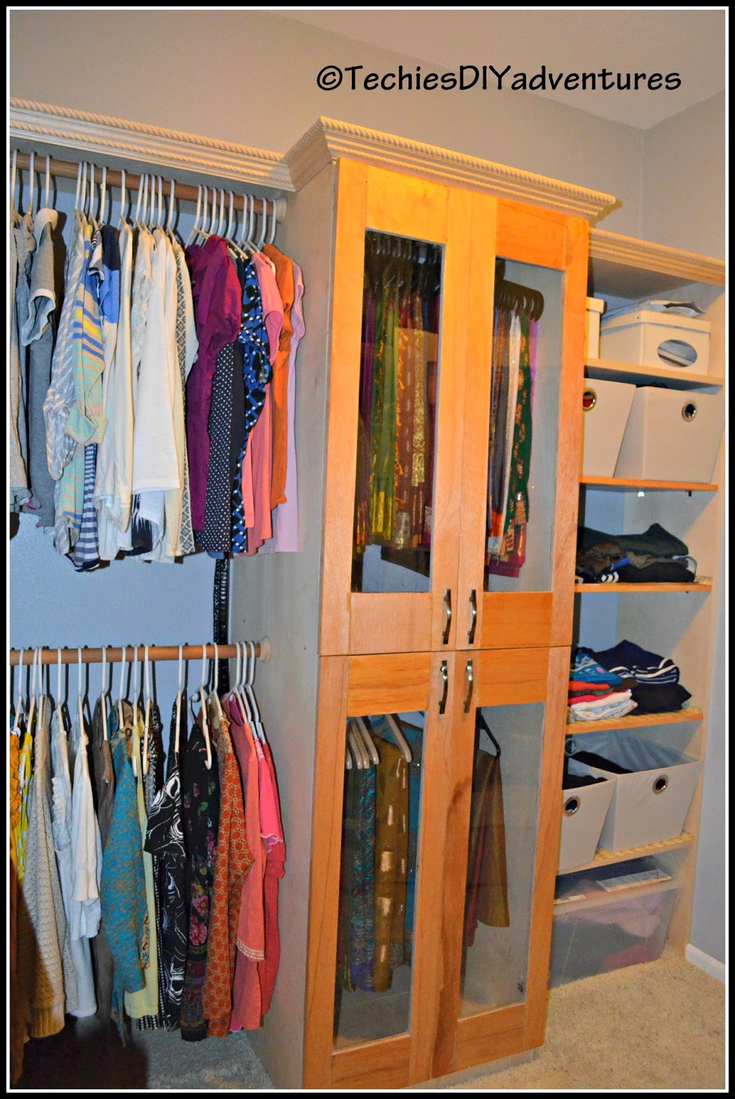 Walk In Master Closet - Her Side