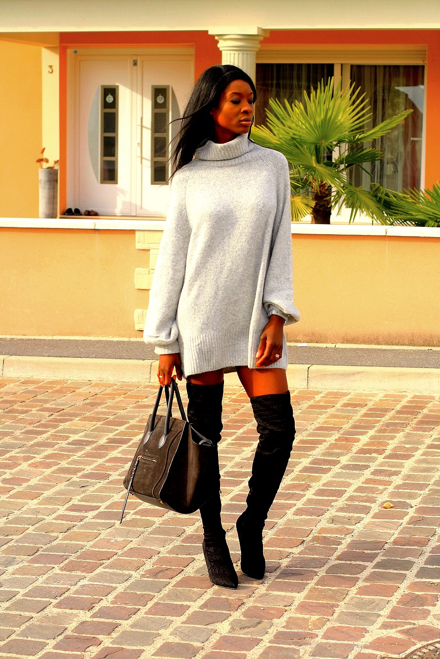 jumper-dress-overknee-boots-celine-phantom-bag