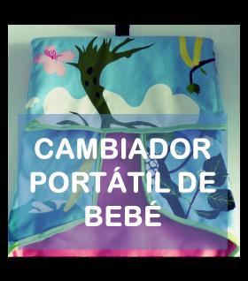 tutorial invitado cambiador portatil de bebe La vie en DIY