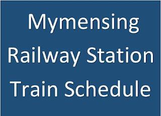 Mymensing railway station train schedule