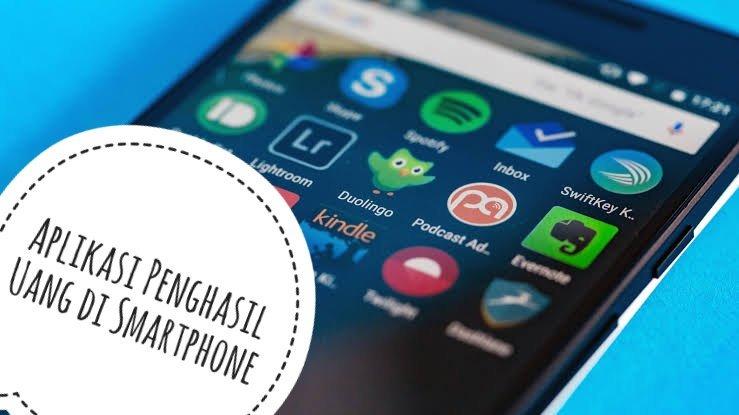 4 Aplikasi Penghasil Uang Di Smartphone Android Pakde Review