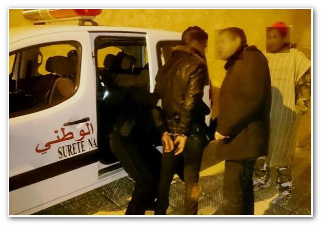 قاصرين في قبضة الشرطة بأكادير بسبب 'الگريساج' !