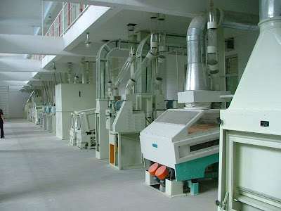 Complete Auto Rice Milling plant