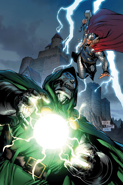doctor doom vs thor