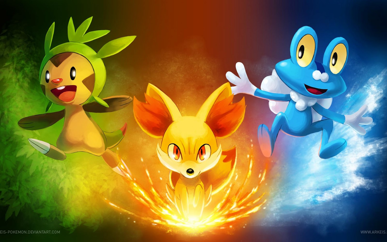 awesome pokemon backgrounds - photo #14