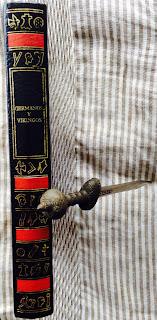 Portada del libro Germanos y vikingos, de Patrick Louth