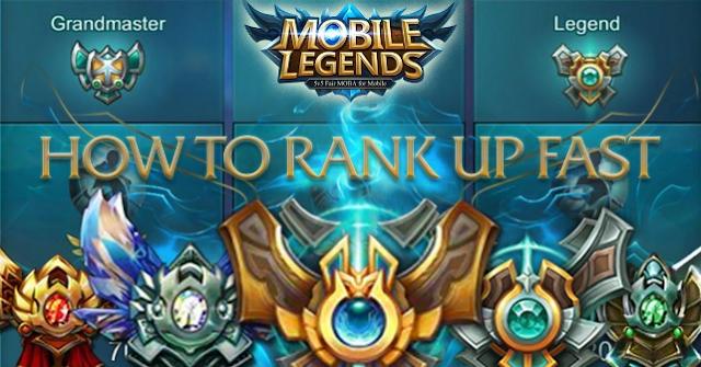 Cara Cepat Naik Rank di Mobile Legends