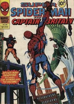 Super Spider-Man and Captain Britain #242, the Hitman and the Vulture