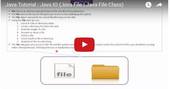 Java ee java tutorial java io java file java file class for Pool design pattern java