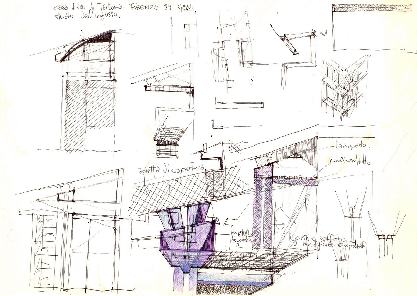 Vent 39 anni di disegni dell 39 arch antonio saporito giugno 2011 for Disegno casa interno