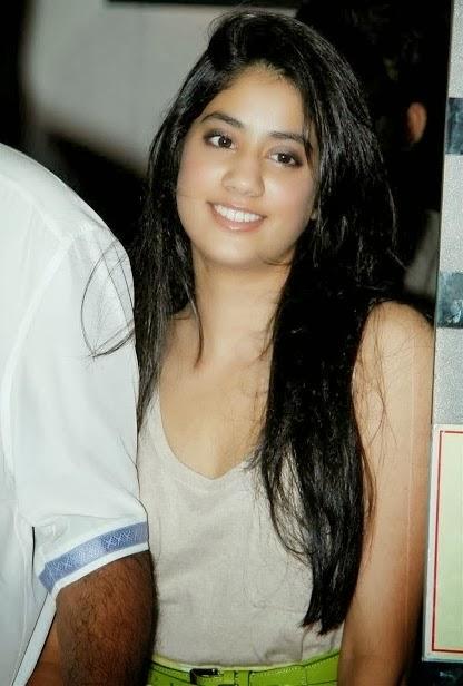 Sridevi Daughter Jhanvi Spicy Stills - Sexy Photolite-7581