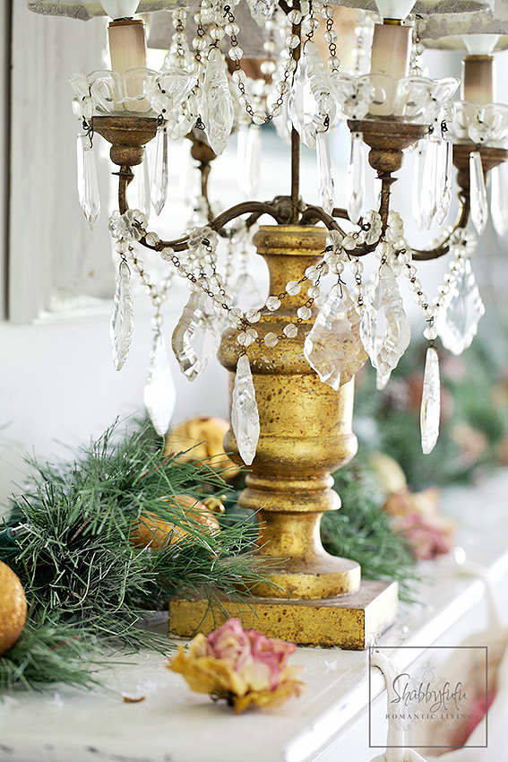 Christmas-Mantel- Blog Hop- From My Front Porch To Yours