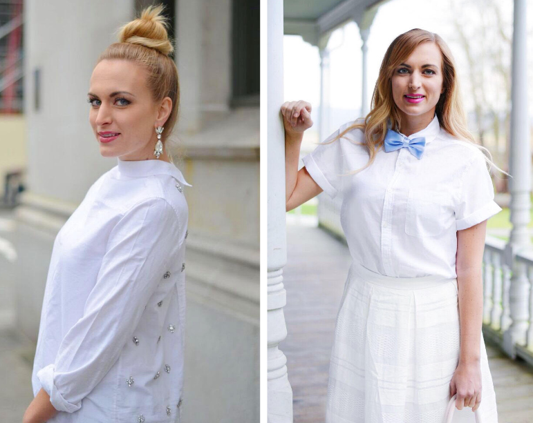 5 ways to style a button down shirt