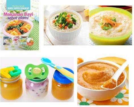 Resep dan Menu Makanan Bayi Sehat usia 6 sampai 12 bulan