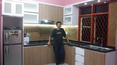 Gambar Kitchen Set Minimalis Rawa Kalong Bekasi