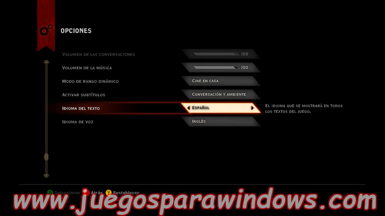 Dragon Age Inquisition Multilenguaje ESPAÑOL XBOX 360 (Región FREE) (COMPLEX) 8