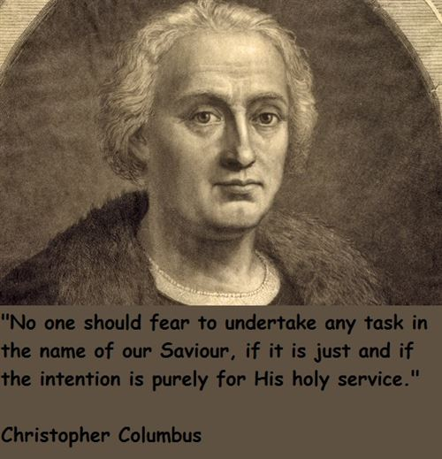Best Christopher Columbus Day Quotes