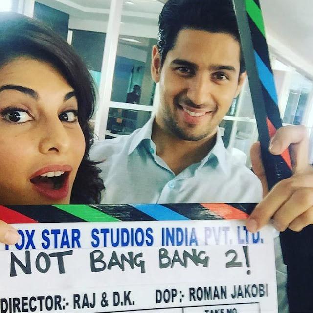 Not Bang Bang 2, Not Bang Bang 2 Sidharth Malhotra, Not Bang Bang 2 Jacqueline