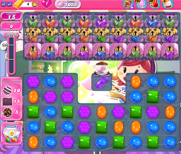 Candy Crush Saga 1088