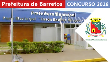 Concurso Prefeitura de Barretos 2018