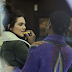 Kendall Jenner's rumoured boyfriend A $AP Rocky spotted lubricating her lips (photos)