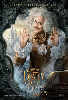 Beauty and the Beast (2017) Poster Stanley Tucci