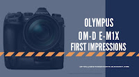 Olympus OM-D E-M1X first impressions compilation video