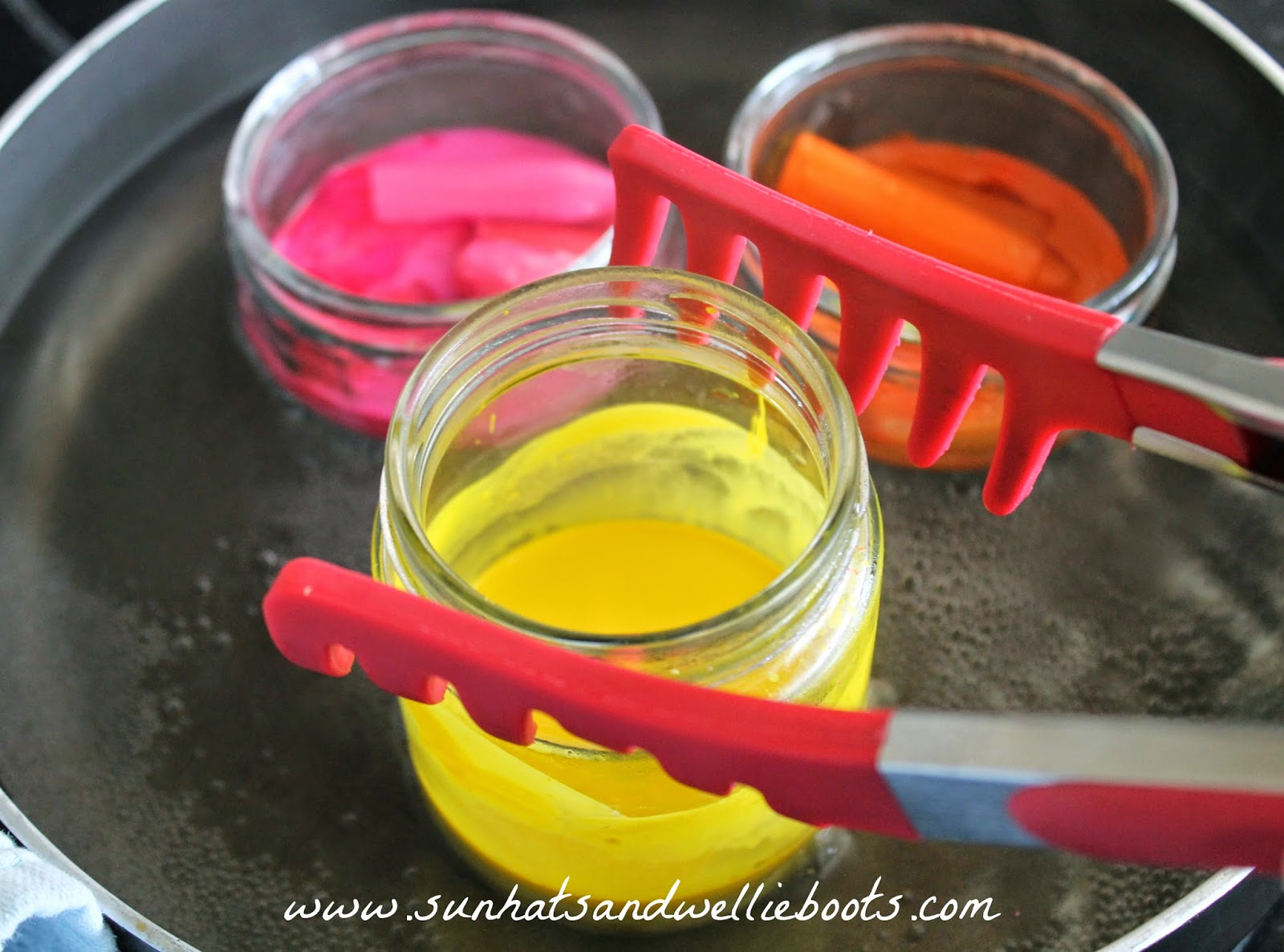 sun hats wellie boots homemade easter crayons. Black Bedroom Furniture Sets. Home Design Ideas