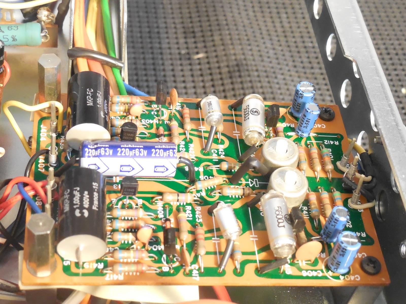 Vintage Hi-Fi Audio Restorations: Marantz 2325 A Trio of