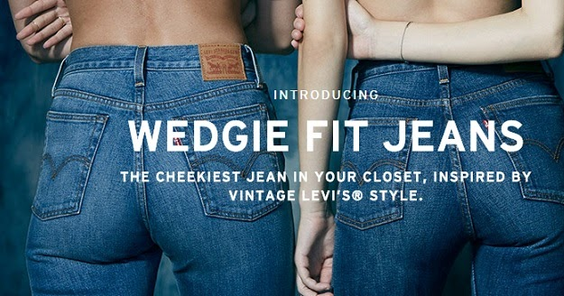 a953d08943e Wedgie Fit Jeans from Levi s