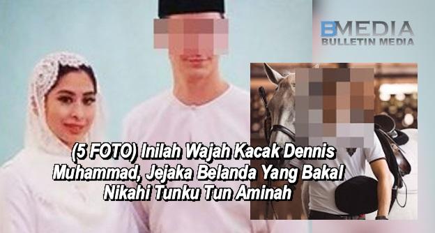 (5 FOTO) Inilah Wajah Kacak Dennis Muhammad, Jejaka Belanda Yang Bakal Nikahi Tunku Tun Aminah