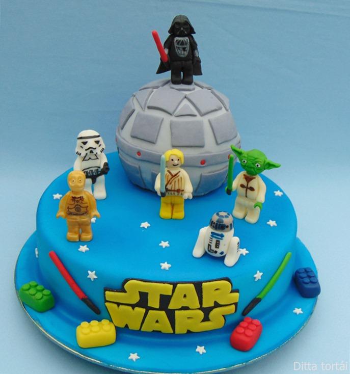 Famoso Ditta tortái: Lego Star Wars torta IG14
