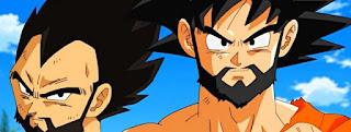 ¡Vegeta y Goku se dejan barba!
