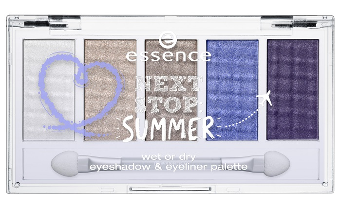 essence next stop: summer Lidschattenpalette