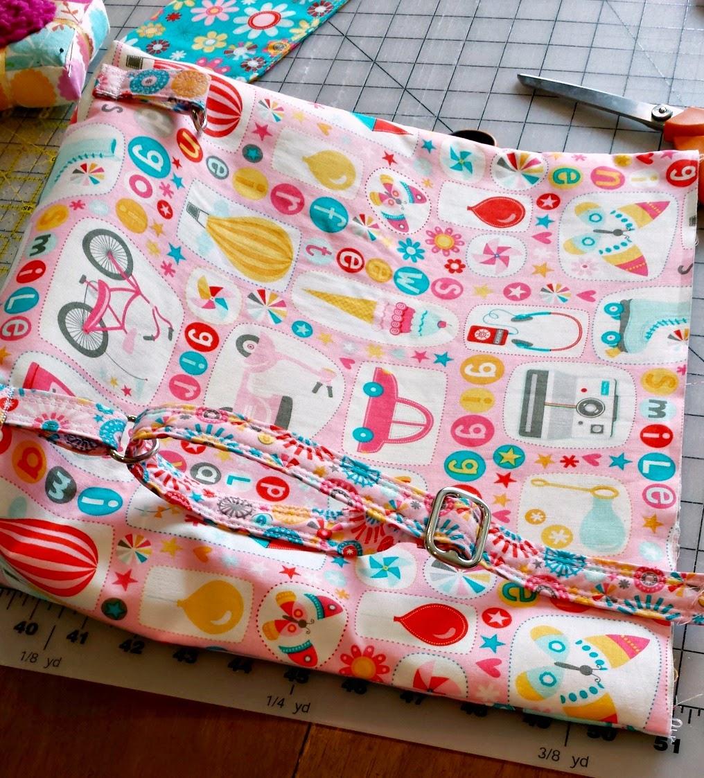 DIY Toddler Backpack Tutorial featured by top US sewing blog, Ameroonie Designs