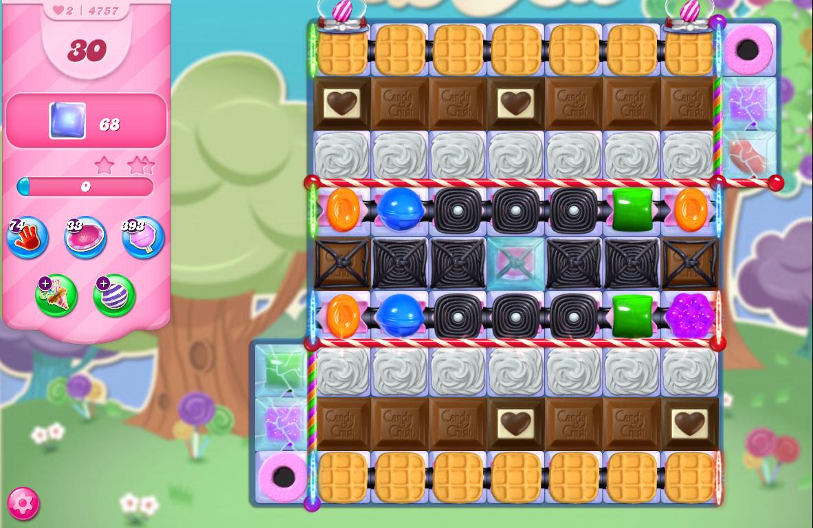 Candy Crush Saga level 4757