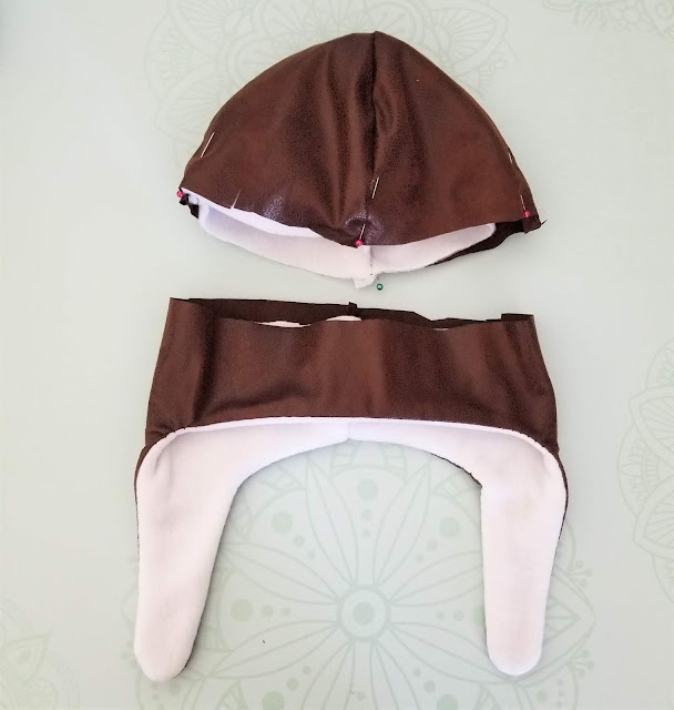 diy aviator hat pattern