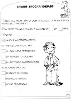 Foca - Atividades de alfabetização e atividades para imprimir 3