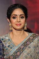 Sri Devi in designer saree stunning beauty at the launch of MOM movie Trailer~  Exclusive 024.JPG