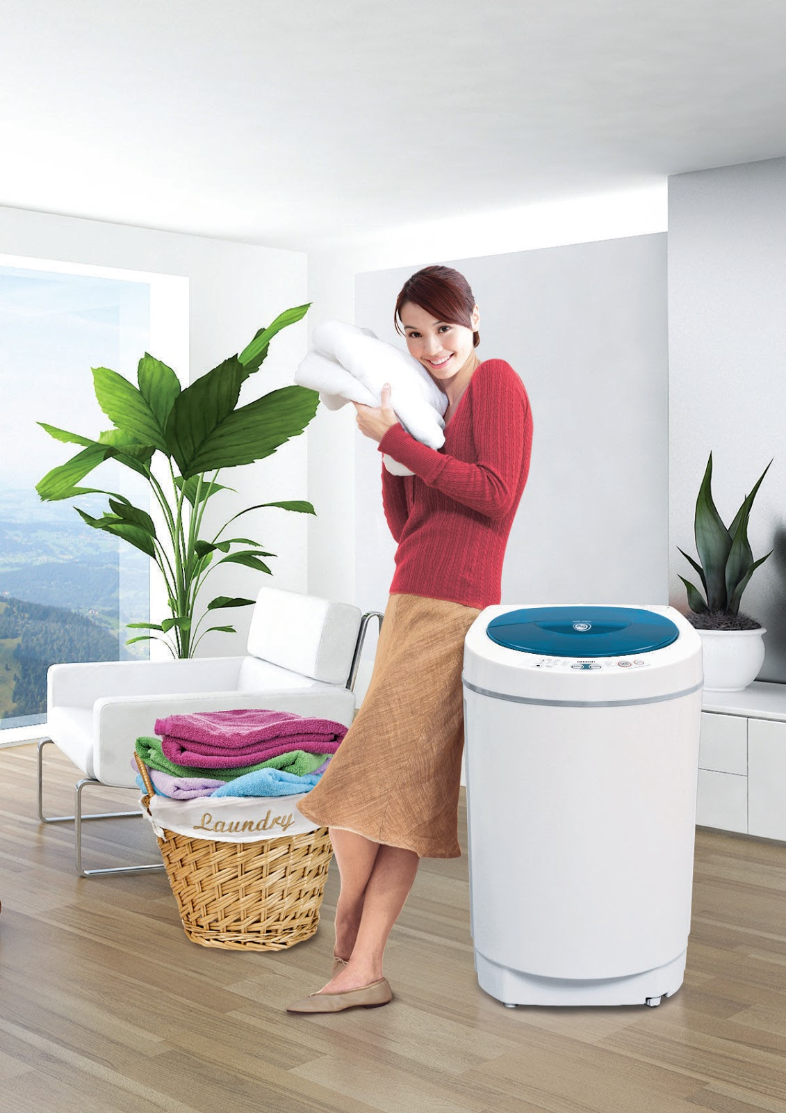 Sharp Fully Automatic Washing Machine