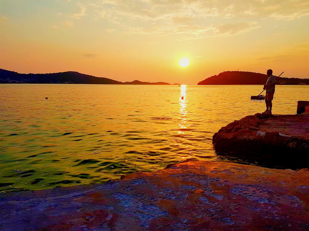 Kalebova Luka Sunset