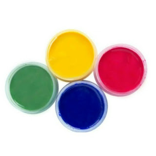 FUN KID PROJECT:  Make scratch & sniff paint.  Taste-safe and fun for all ages! (only 3 ingredients!)