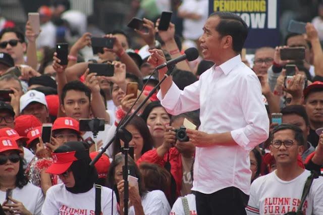 Surat Suara Tercoblos 01, Jokowi: <i>Weslah</i> Jangan Angkat Isu yang Tak Jelas