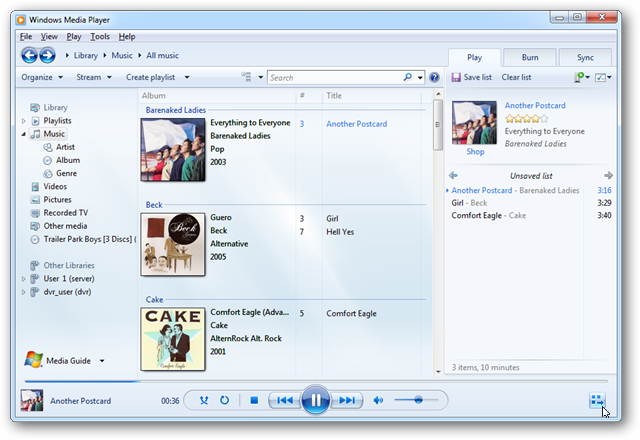 visualitationen media player
