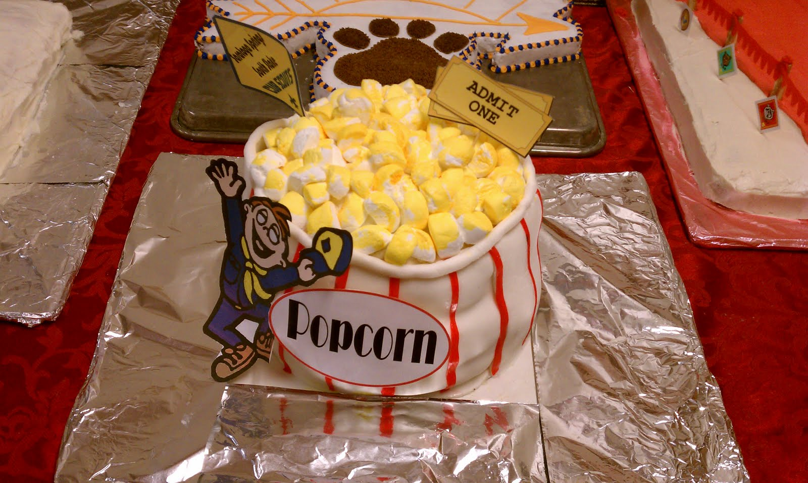 Cub Scout Cake Decorating Ideas