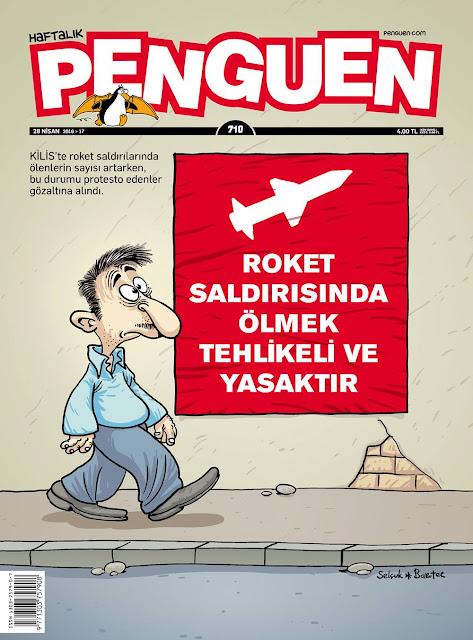 Penguen Dergisi - 28 Nisan 2016 Kapak Karikatürü