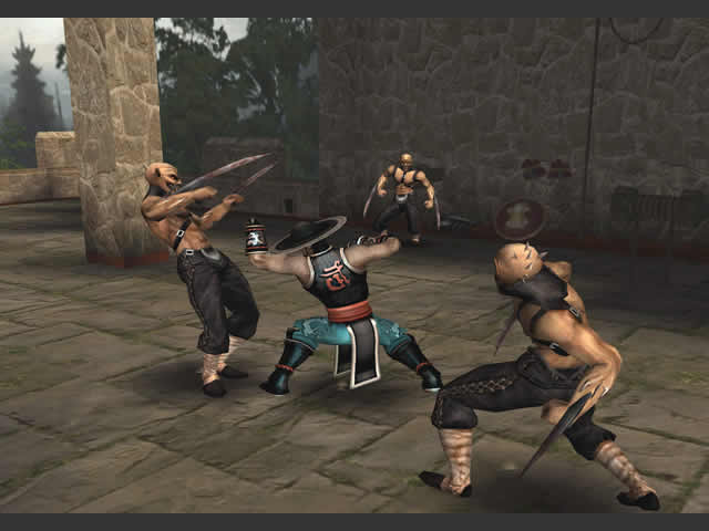 Mortal Kombat: Shaolin Monks PS2 GAME ISO Gameplay