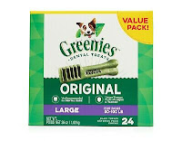 Greenies Dog Dental Chews Dog Treats - Large Size (50-100 lb Dogs)