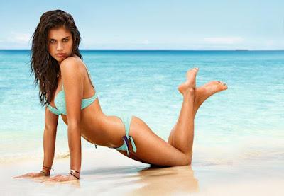 fotos da modelo portuguesa Sara Sampaio em adolescente